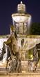 Leinwanddruck Bild - Famous public fountain in downtown Scottsdale, Arizona