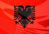 Flag of Albania, poster