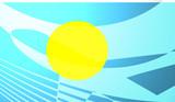 Flag of Palau poster