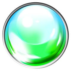 Colored transparent sphere
