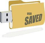 USB saved