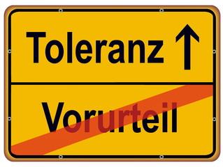 Toleranz – Vorurteil