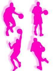 Calcio silhouette