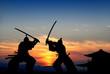 Leinwanddruck Bild - Samurai
