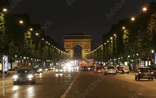 Fototapeta notturno parigino