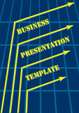 Abstract Blue Business Presentation Template