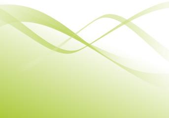 décoration vectoriel vert - green curves - vector shape