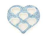 Heart shaped muffin dish poster