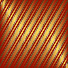 Diagonal orange and red striped background (vector)