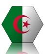 algérie drapeau hexagone algeria flag