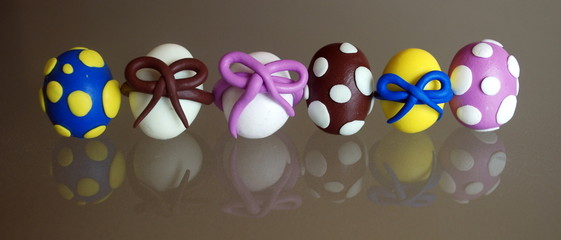 """Easter Eggs"" (with reflection)"