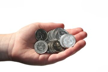 50 Pfennig-Stücke