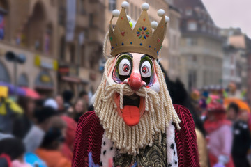 Der Fasnachts König herrscht