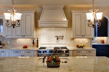 Kitchen View Over Granite Island