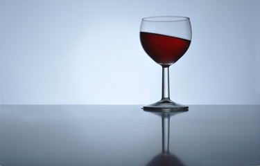 Inclined wine