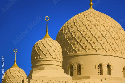 Foto Spatwand Dubai the grand jumeirah mosque in dubai, united arab emirates