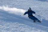 Fototapeta skiing