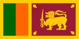 sri lanka fahne flag poster