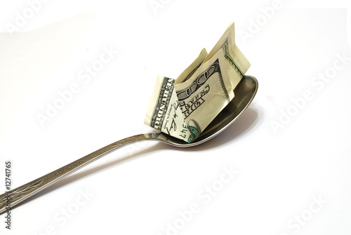 $ 100 to spoon