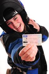 Motorradführerschein bestanden