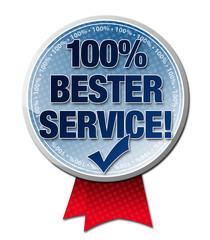 100% BESTER SERVICE