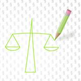 Waage der Gerechtigkeit / balance of justice poster
