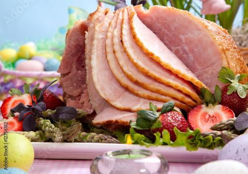 Easter ham - 12756182