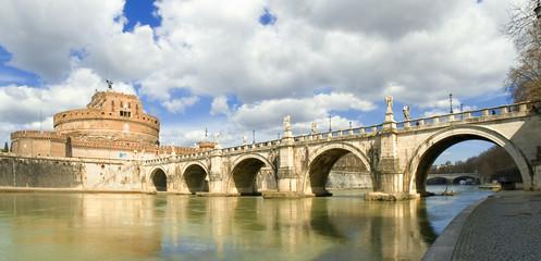 Castel Sant' Angelo e Ponte Sant' Angelo, Roma