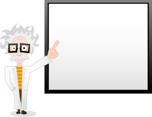professor and whiteboard