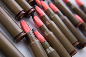AK-47 cartridges