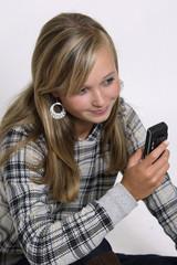 Mit dem Handy telefonieren