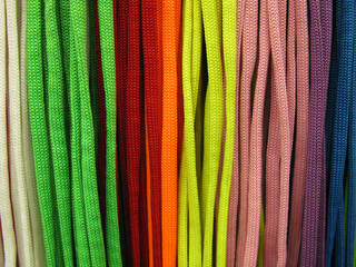 Shoelaces colored
