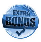 Extra Bonus Button poster