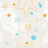 Fototapety Summer seamless pattern