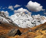 Annapurna South, Himalaya, Nepal poster