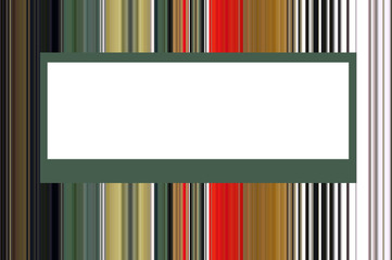 tarjeta rayas tonos verdes