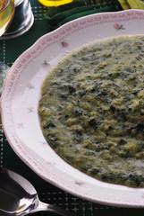Minestra di riso e bietola - Primo piatto - Cucina vegetariana