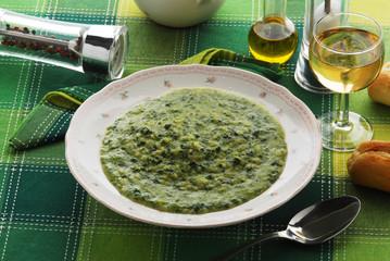 Minestra di riso e bietola - Primi piatti - Cucina vegetariana