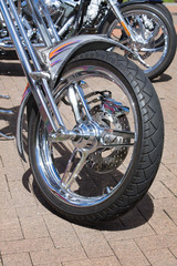 Motorcycle tyre details