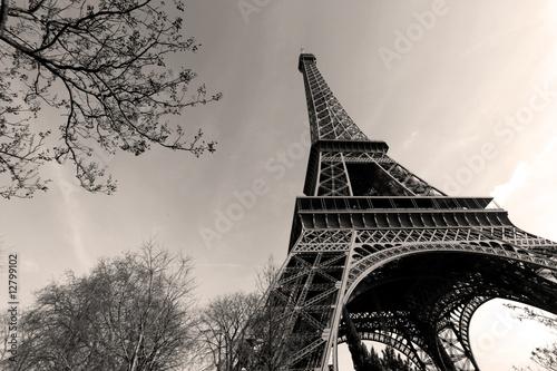 Naklejka Tour Eiffel - Eiffel Tower