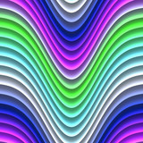 Colorful glowing neon lines abstract graphic design illustration poster