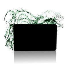 card splash