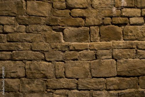 Leinwanddruck Bild Mauerwerk