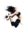 Naklejka modern style dancer