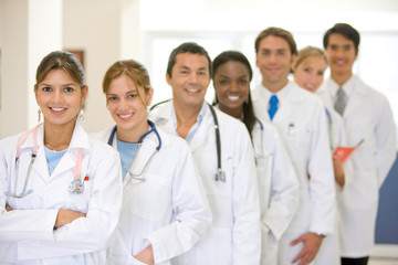 Doctors in a row