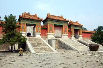 Qing Dongling scenery