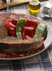 Trancio di pesce spada alla paprica e peperoni - Veneto