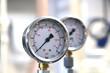 Two industrial barometers