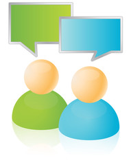 Conversation Chat Bubble Icons