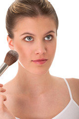 Body care series - Portrait of beautiful woman